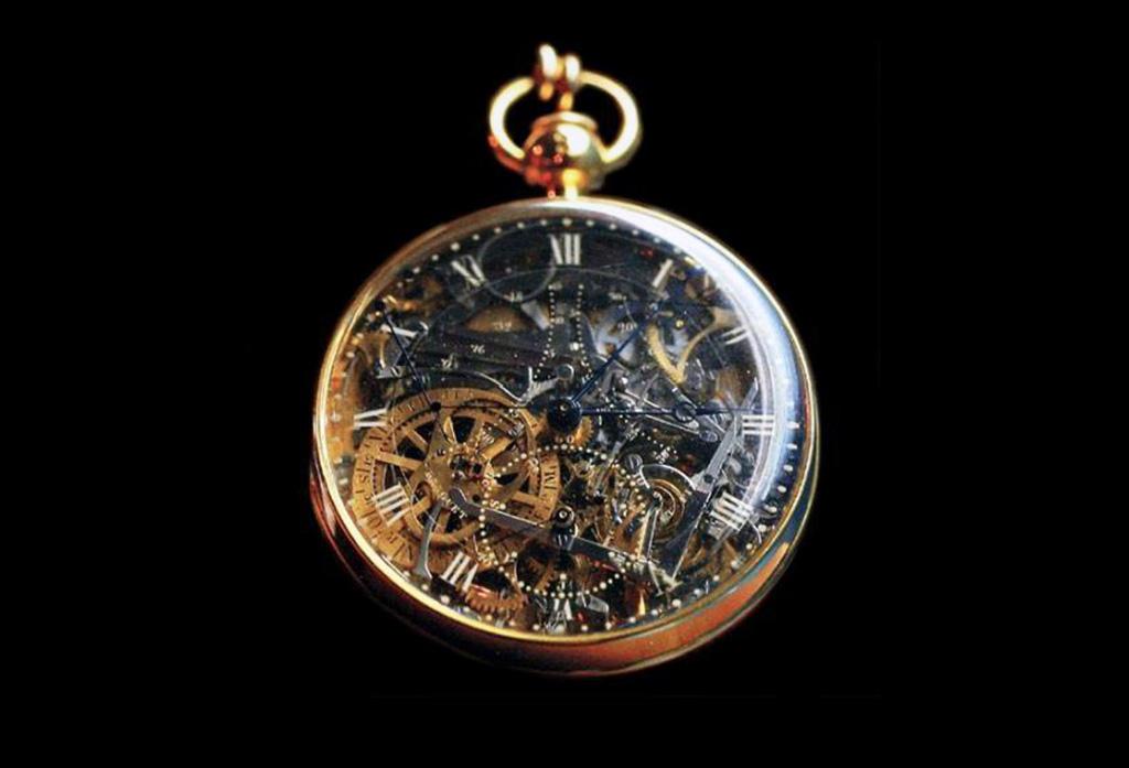 ساعة ماري أنطوانيت | بروجيه ١٦٠