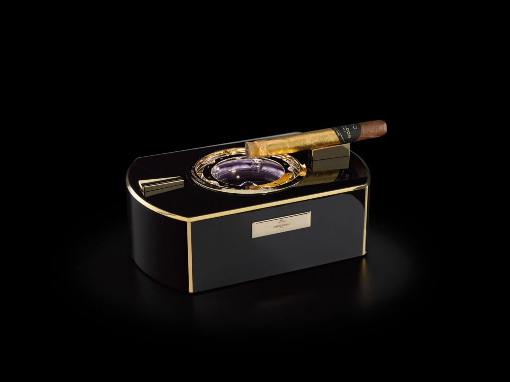 The Emperador cigar Chest | | Imperiali Genève | Cigar Ashtray