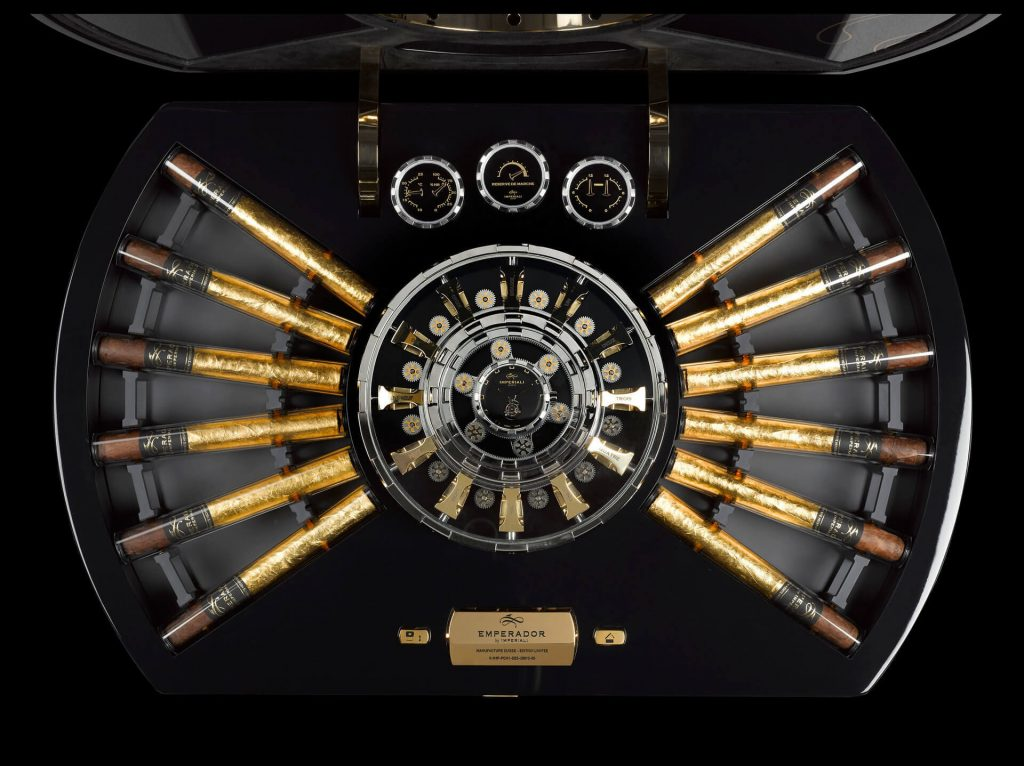 The Emperador cigar Chest | | Imperiali Genève | Top View