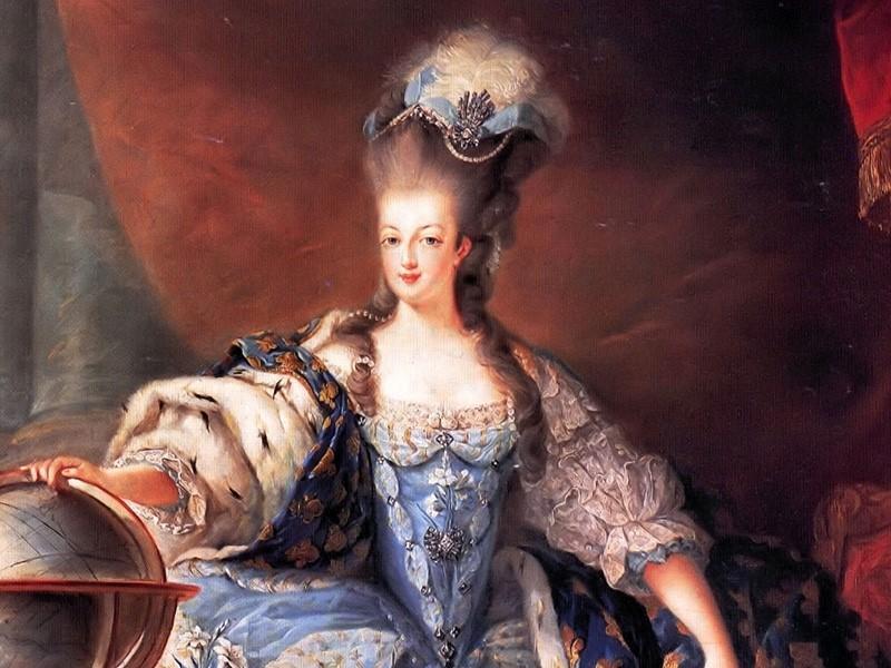 Marie Antoinette (1755-1793) portrayed by Jean Baptiste Dagoty (1775) | Marie Antoinette watch