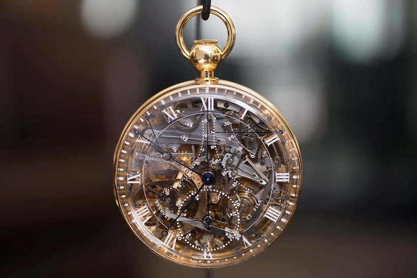 "Marie Antoinette ""Grande Complication"" pocket watch number 1160 by Breguet"