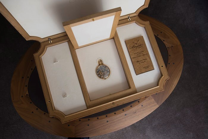 ساعة ماري أنطوانيت الأصلية