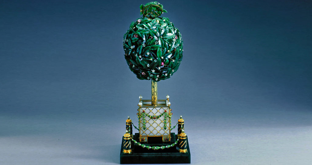 Fabergé Egg: Bay-Tree, 1911