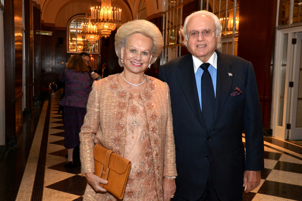 Billionaire Ira Rennert and his wife Ingeborg in 2013. Photographer: Amanda Gordon/Bloomberg