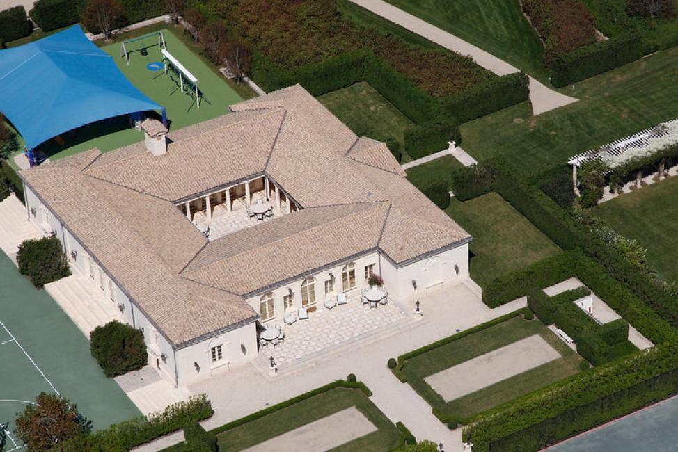منزل فيرفيلد لقطة من الجو