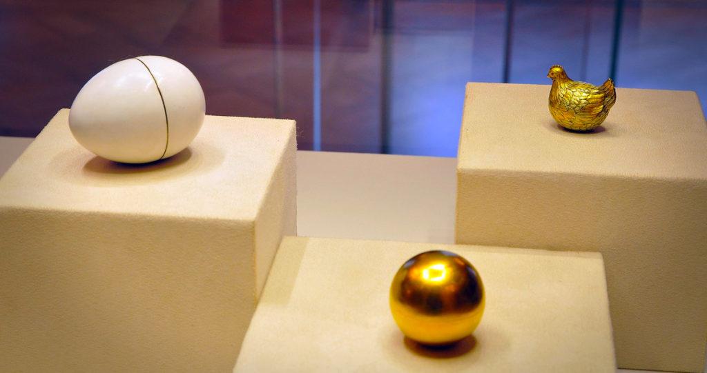 Fabergé Egg: The Hen, 1885