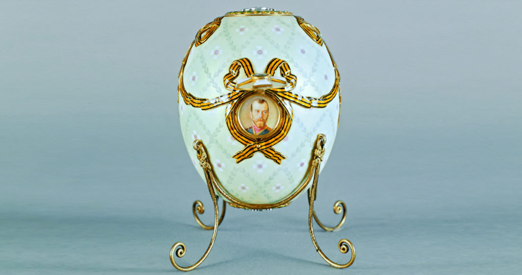 Fabergé Egg: Order of St. George, 1916