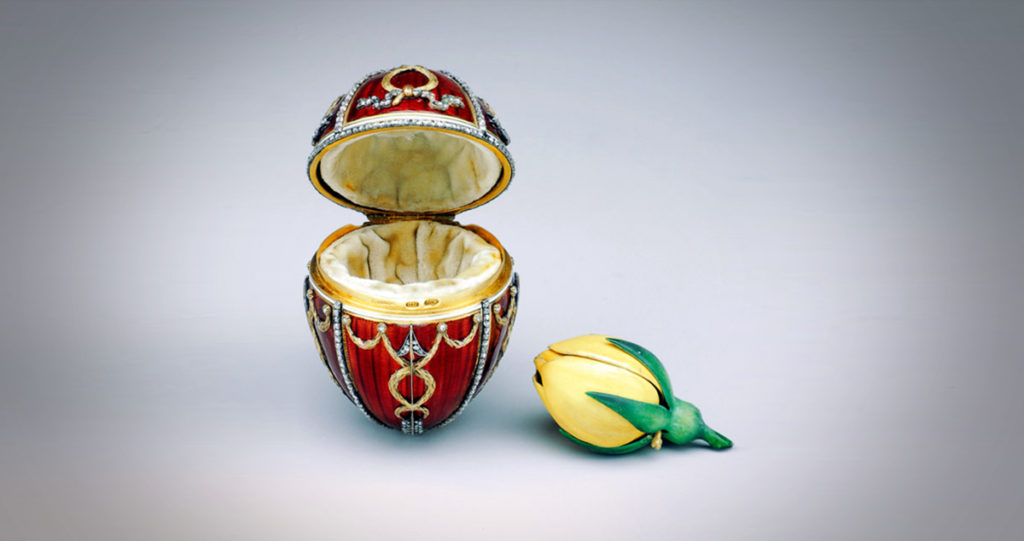 Fabergé Egg: Rosebud, 1895
