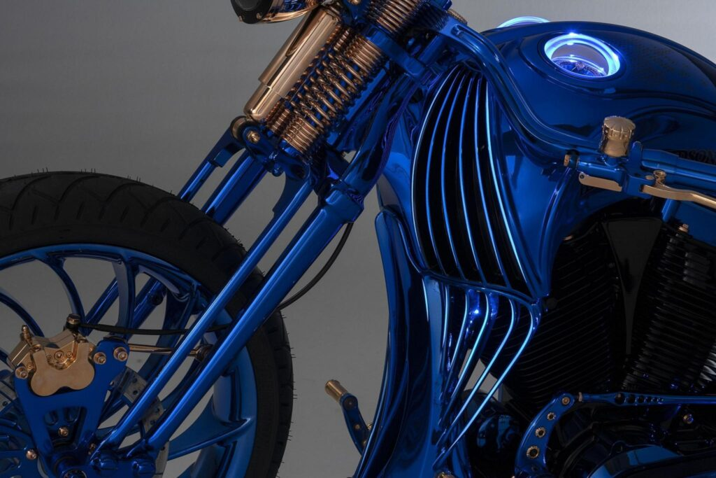 Harley-Davidson Softail Blue-Edition