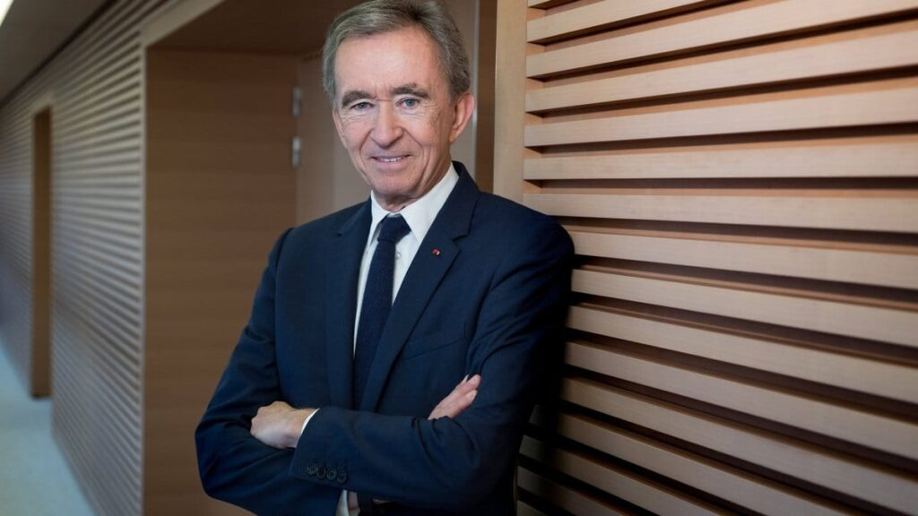 Bernard Arnault Louis Vuitton owner surpasses Bill Gates in the list of the world's wealthiest people