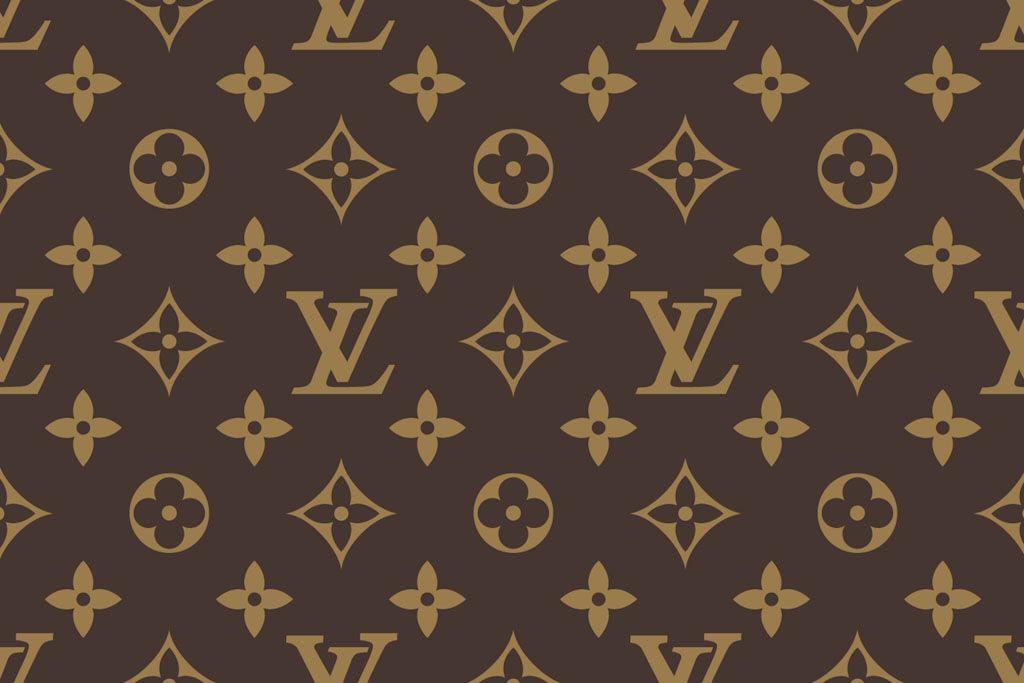 علامة لويس فيتون الشهيرة