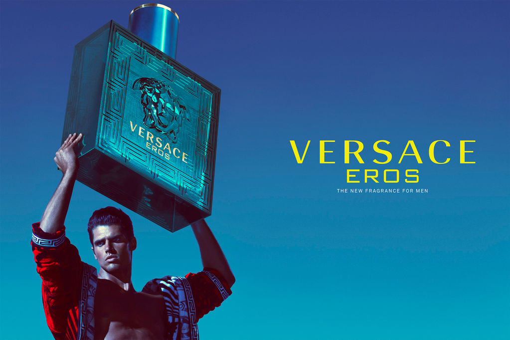 best perfume for men - Versace- Eros