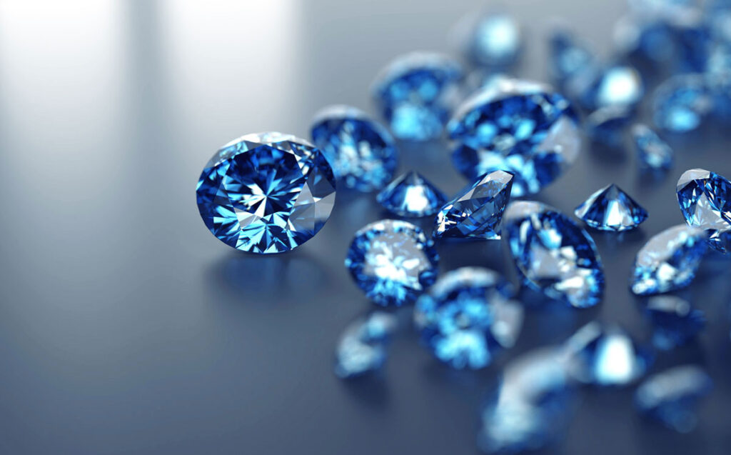 THE FINEST BLUE DIAMONDS IN THE WORLD