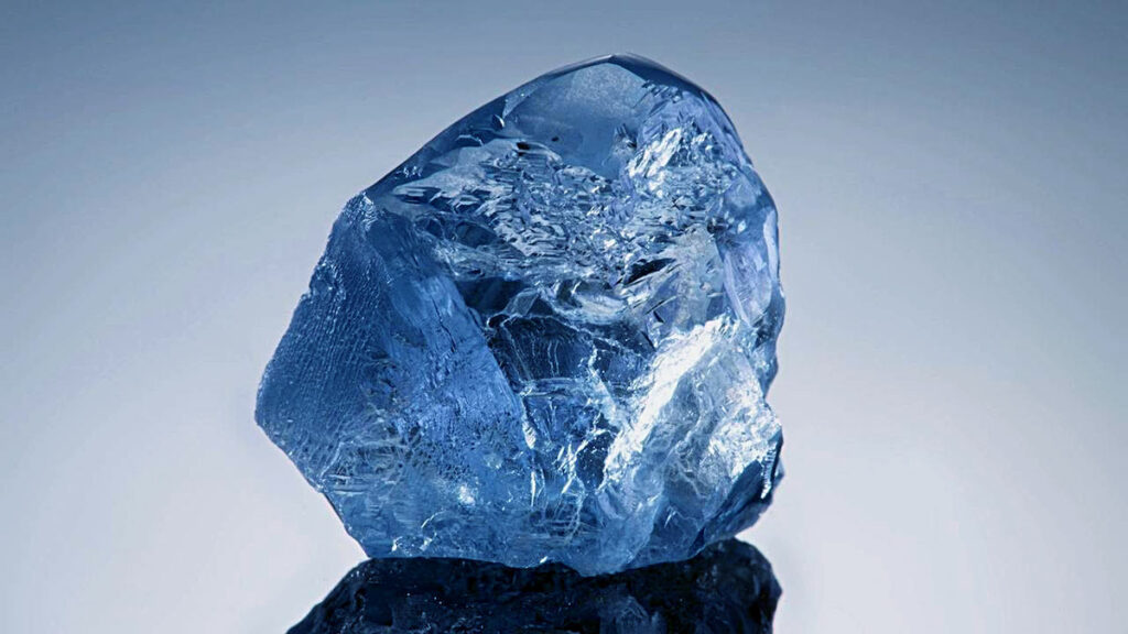 The New Largest Blue Diamond Found