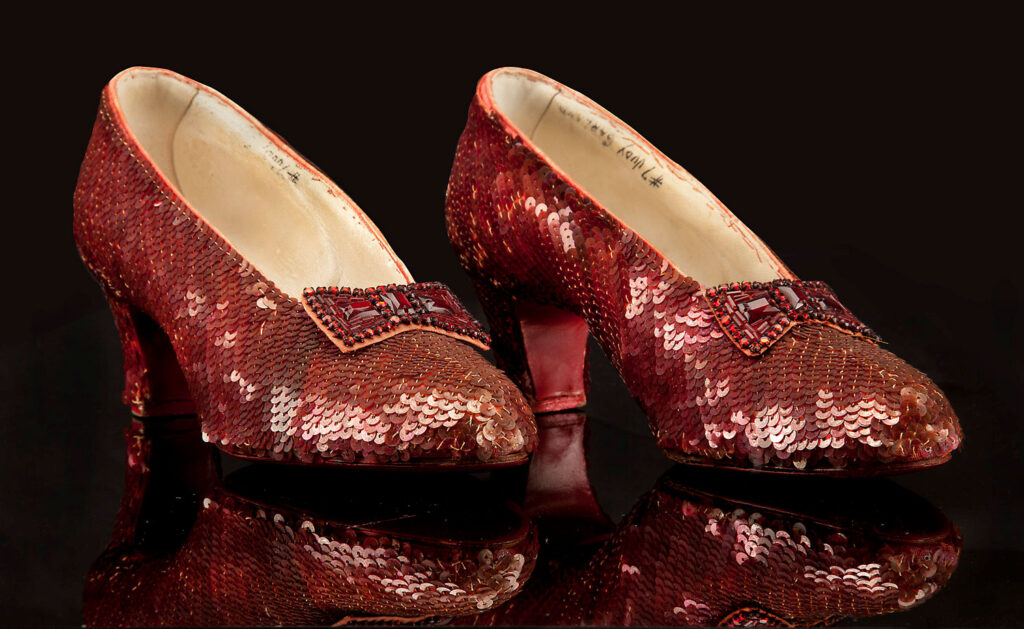 HARRY WINSTON RUBY HEELS – USD 3 MILLION