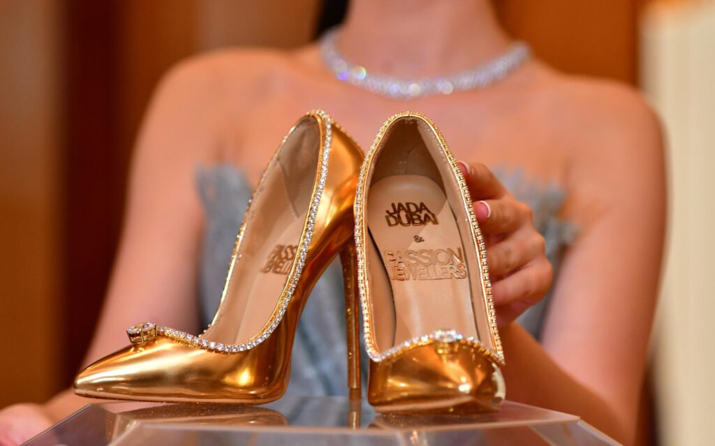 The Most Expensive Shoes In The World | JADA DUBAI & PASSION JEWELLERS PASSION DIAMOND SHOES – USD 23.6 MILLION