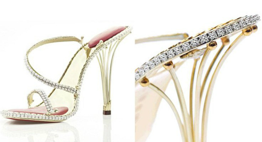 STUART WEITZMAN PLATINUM GUILD STILETTOS – USD 1.09 MILLION