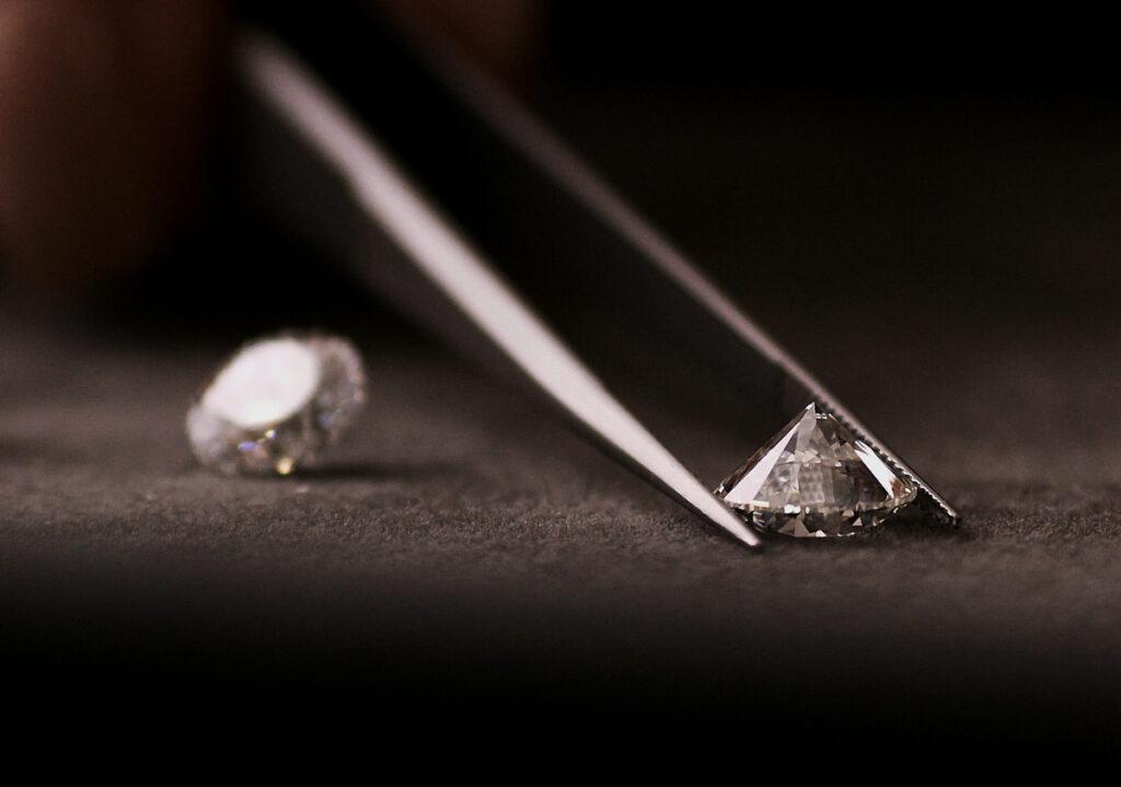 صور الماس: ماس VVS أجود أنواع الماس