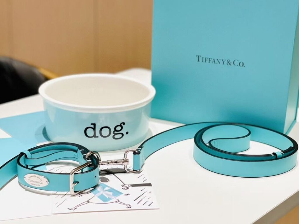 Luxury Dog Accessories - Double Dog Bowl