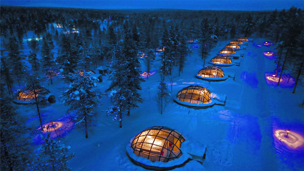 Most Unique Hotels - Hotel Kakslauttanen, Finland