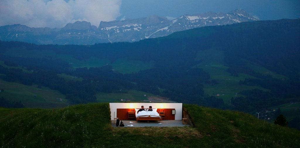 Most Unique Hotels - Null Stern Hotel, Switzerland
