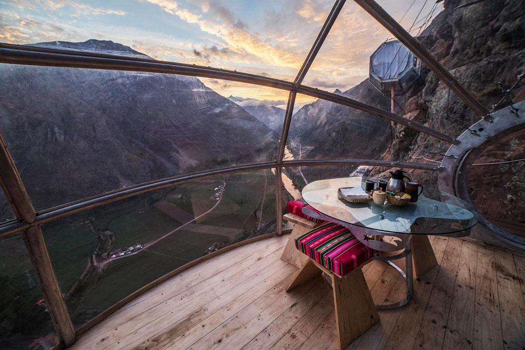Most Unique Hotels - Skylodge Adventure Suites, Peru
