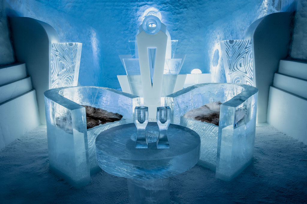 Most Unique Hotels - IceHotel, Sweden