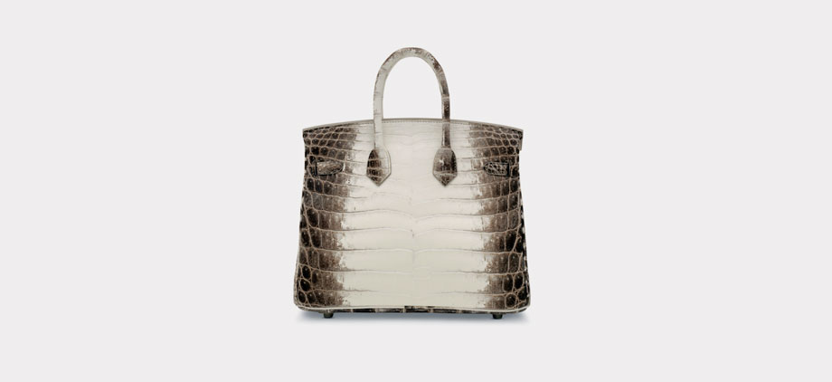 The Most Expensive Handbags in the World | The White Himalaya Niloticus Crocodile Birkin 25
