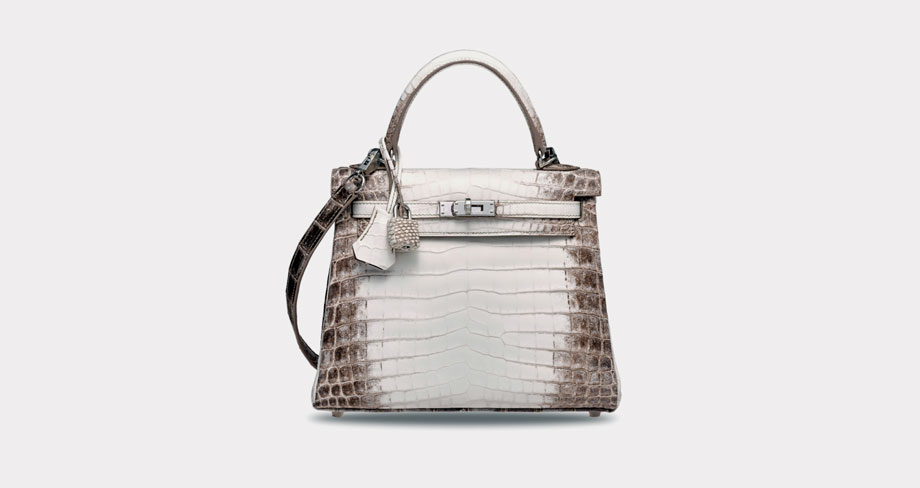 The Most Expensive Handbags in the World | 2019 White Himalaya Niloticus Crocodile Retourné Kelly 25