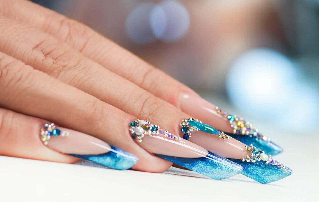 Nail Design -  Diamond Nail Designs