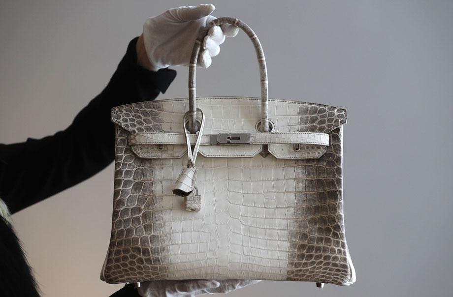 The Most Expensive Handbags in the World | The Himalaya Niloticus Crocodile Diamond Birkin 30