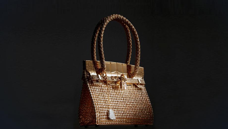 The Most Expensive Handbags in the World | Hermes Kelly Rose Gold Handbags