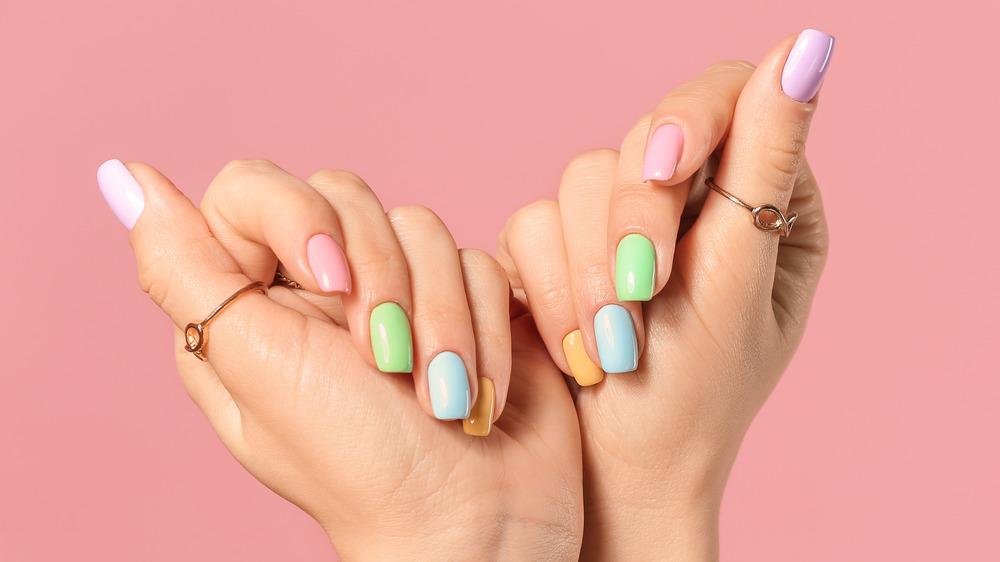 Nail Design - Bright and Bold