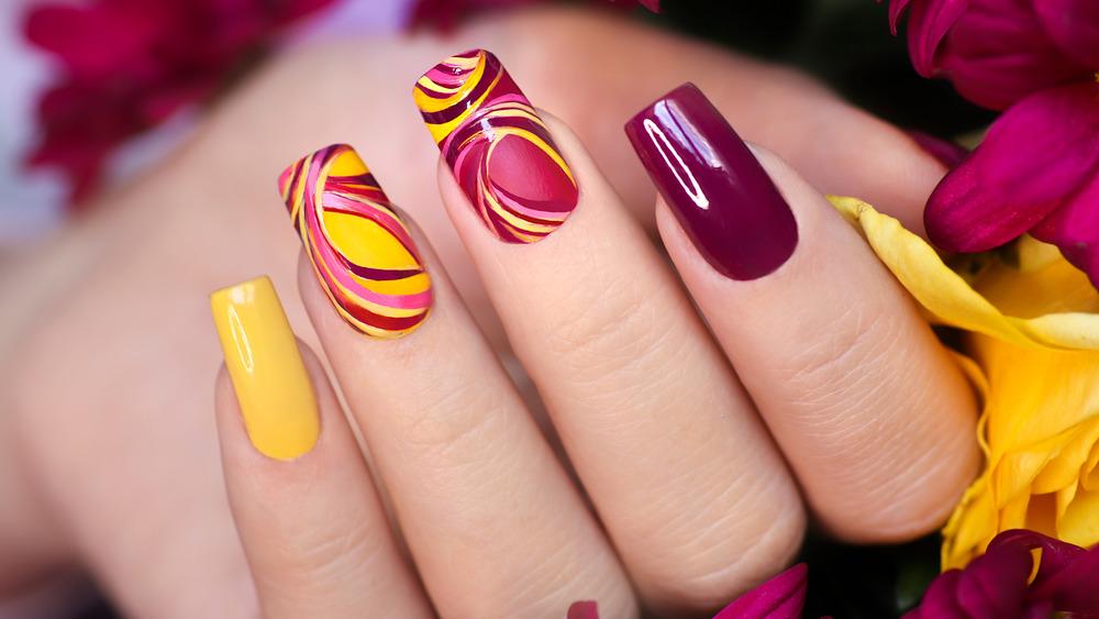 Nail Design - Bold and Bright