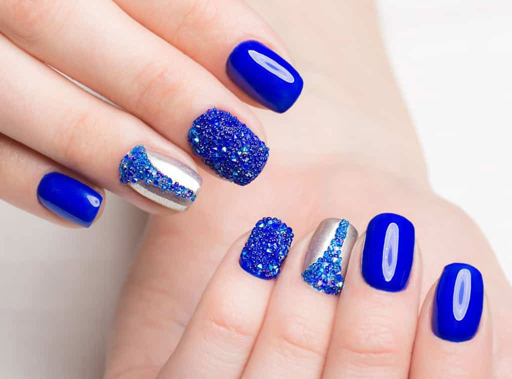 Nail Design - Cute Short Acrylic Nails