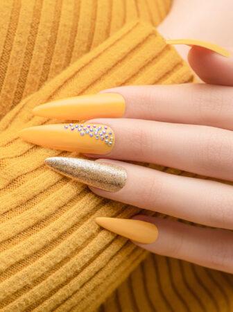 Nail-Designs Yellow