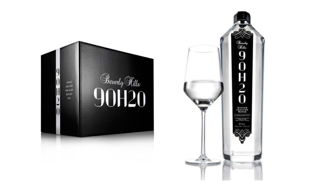 Beverly Hills 9OH2O Luxy Collection Diamond Edition Most Expensive Water