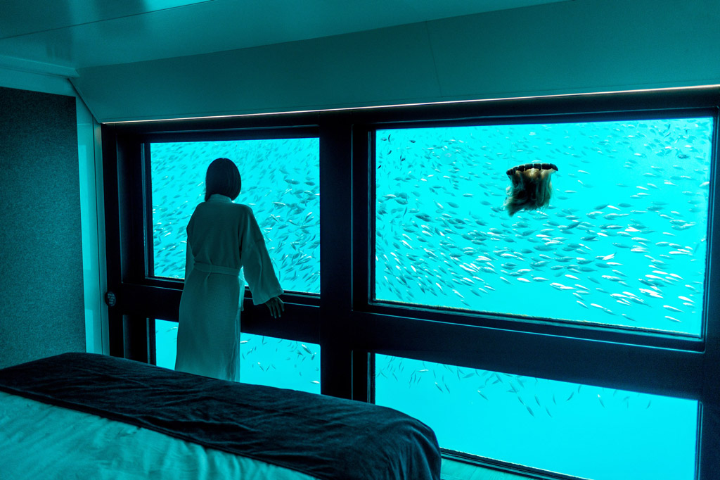 Top Ten Underwater Hotels - The Reefsuites in Australia
