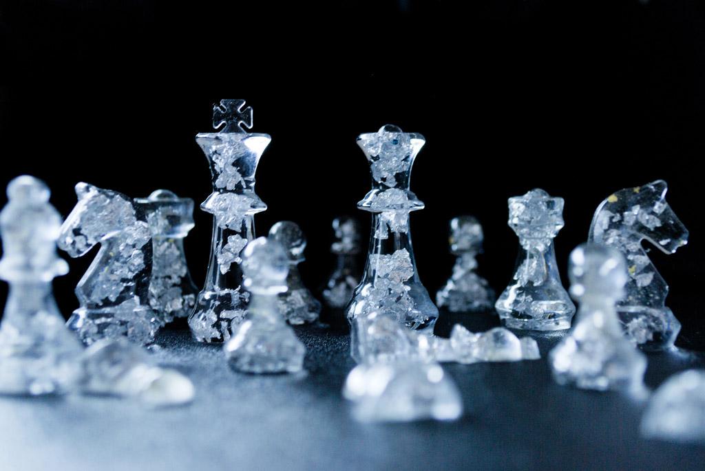 شطرنج -  صورة شطرنج كريستال