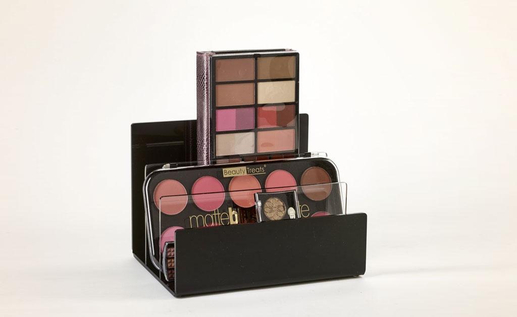 Makeup organization ideas - File Organizer Display