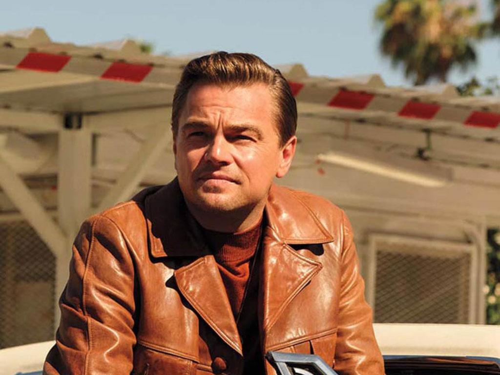 Celebrities With Leather Jackets - Leonardo Di Caprio