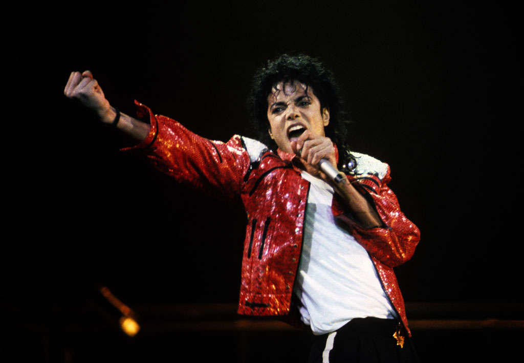 Celebrities With Leather Jackets - Michael Jackson