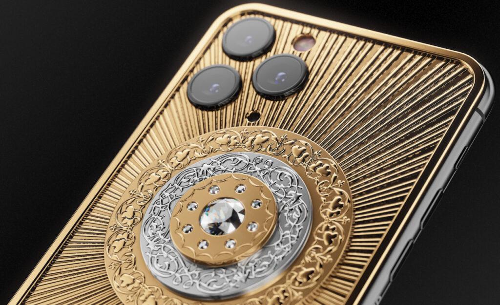 Most expensive phones - Caviar iPhone 11 Pro Max Diamond Christmas Star