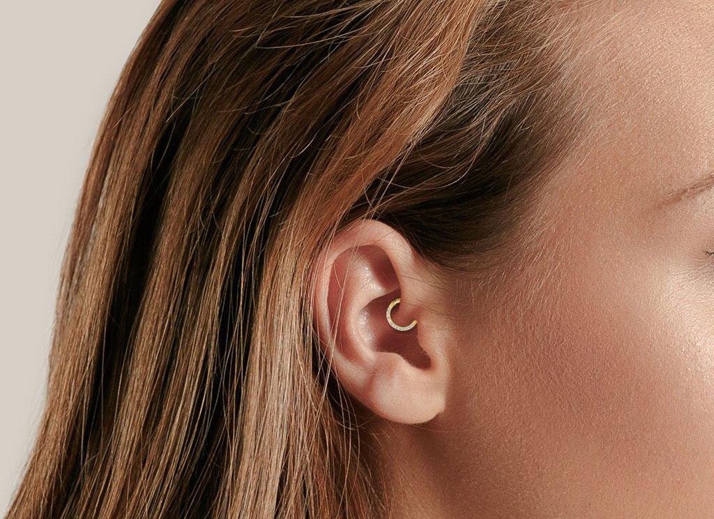 Ear Piercings -  Daith Piercing