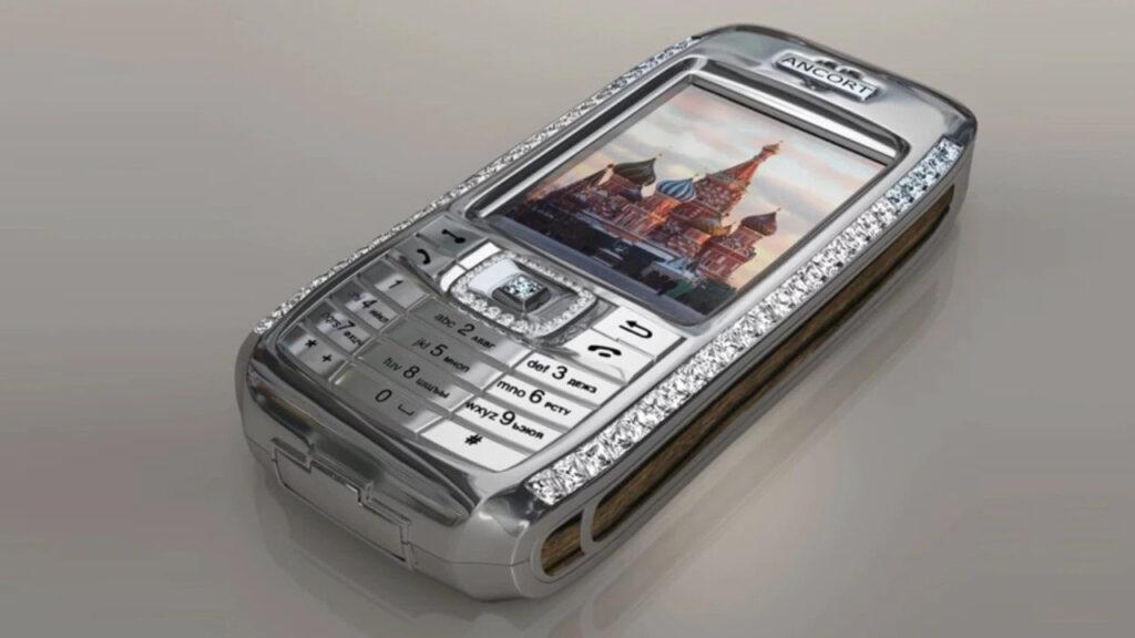 Most expensive phones - Diamond Crypto Smartphone