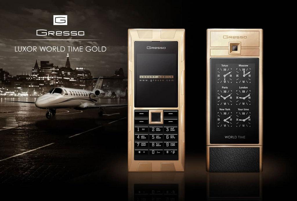 Most expensive phones - Gresso Luxor Las Vegas