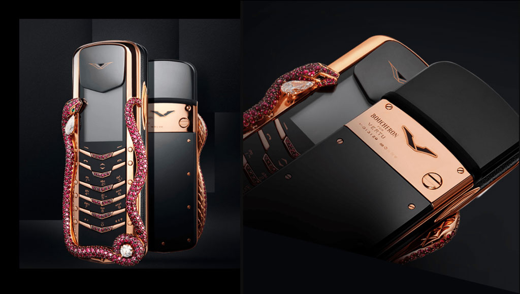 Most expensive phones - Virtu Signature Cobra