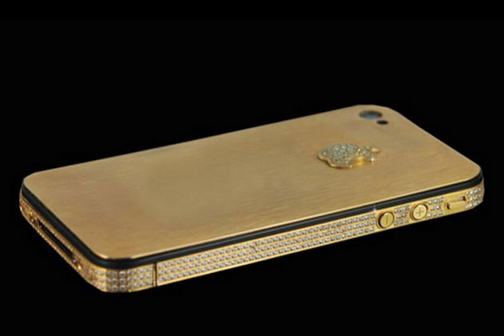 Most expensive phones - iPhone 4S Elite Gold